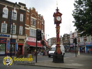 Jubilee Clock in Harlesden