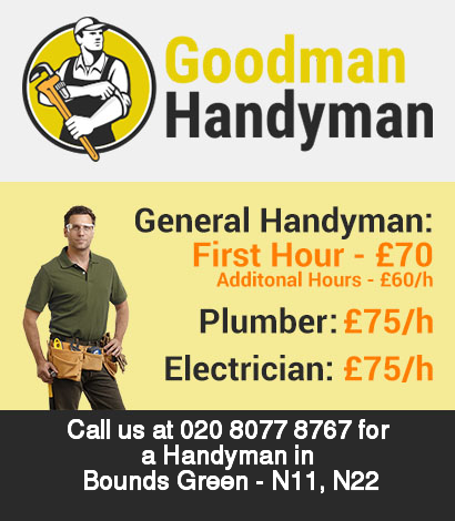 Local handyman rates for Bounds Green