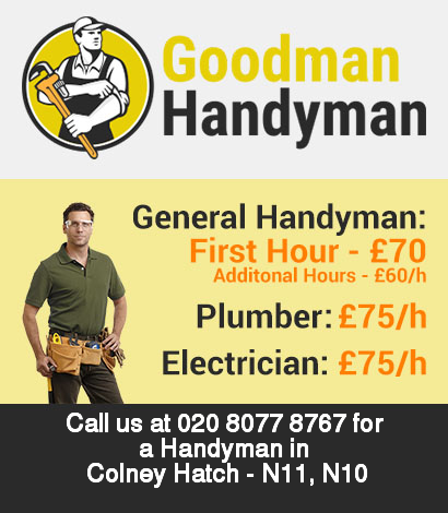 Local handyman rates for Colney Hatch