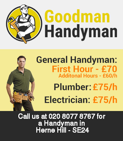 Local handyman rates for Herne Hill