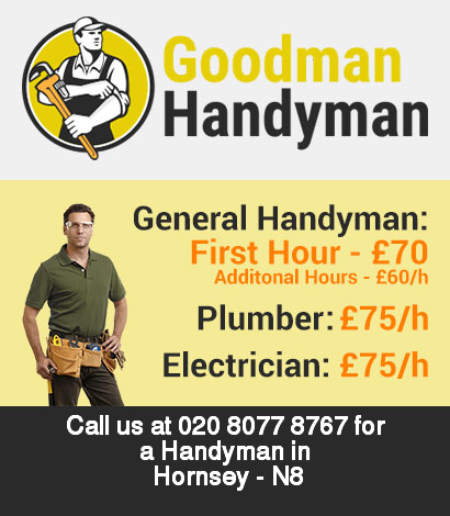 Local handyman rates for Hornsey