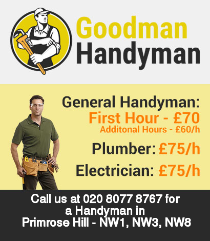 Local handyman rates for Primrose Hill